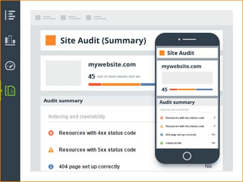 Website Auditor Custom Automatable Reports